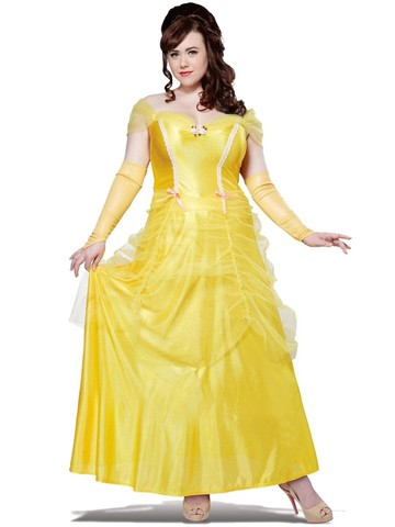 Womens Plus Size Classic Beauty Costume