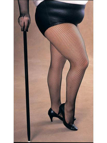 Plus Size Fishnet Tights for Women