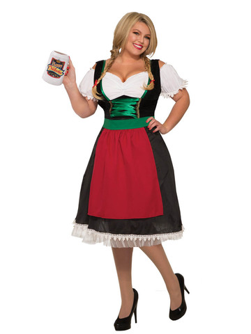 Women Fraulein Plus Size Adult Costume