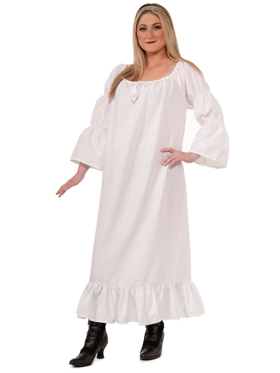 View larger image of Womens Plus Size Medieval Chemise Costume