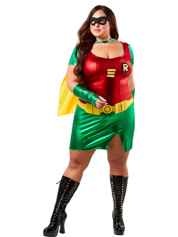 Womens Plus Size Robin Costume