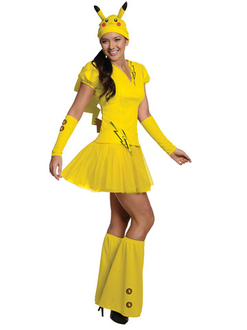 Womens Pokemon Pikachu Costume
