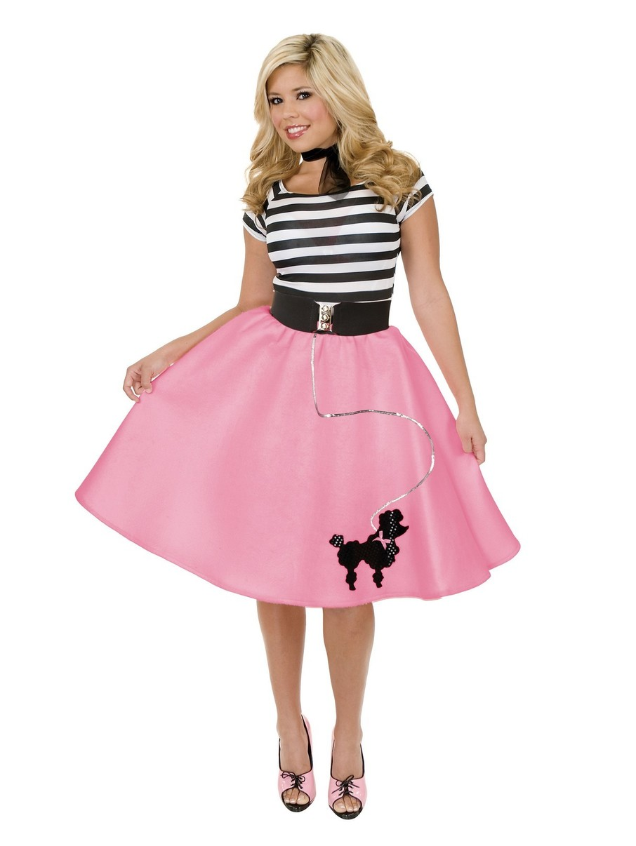 View larger image of Womens Poodle Skirt (Pink)