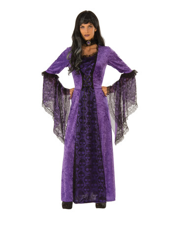 Womens Purple Moon Costume