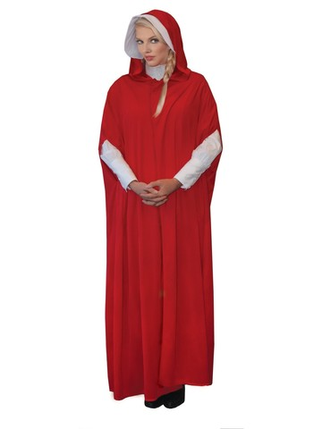 Women's Red Maiden Adult Costume