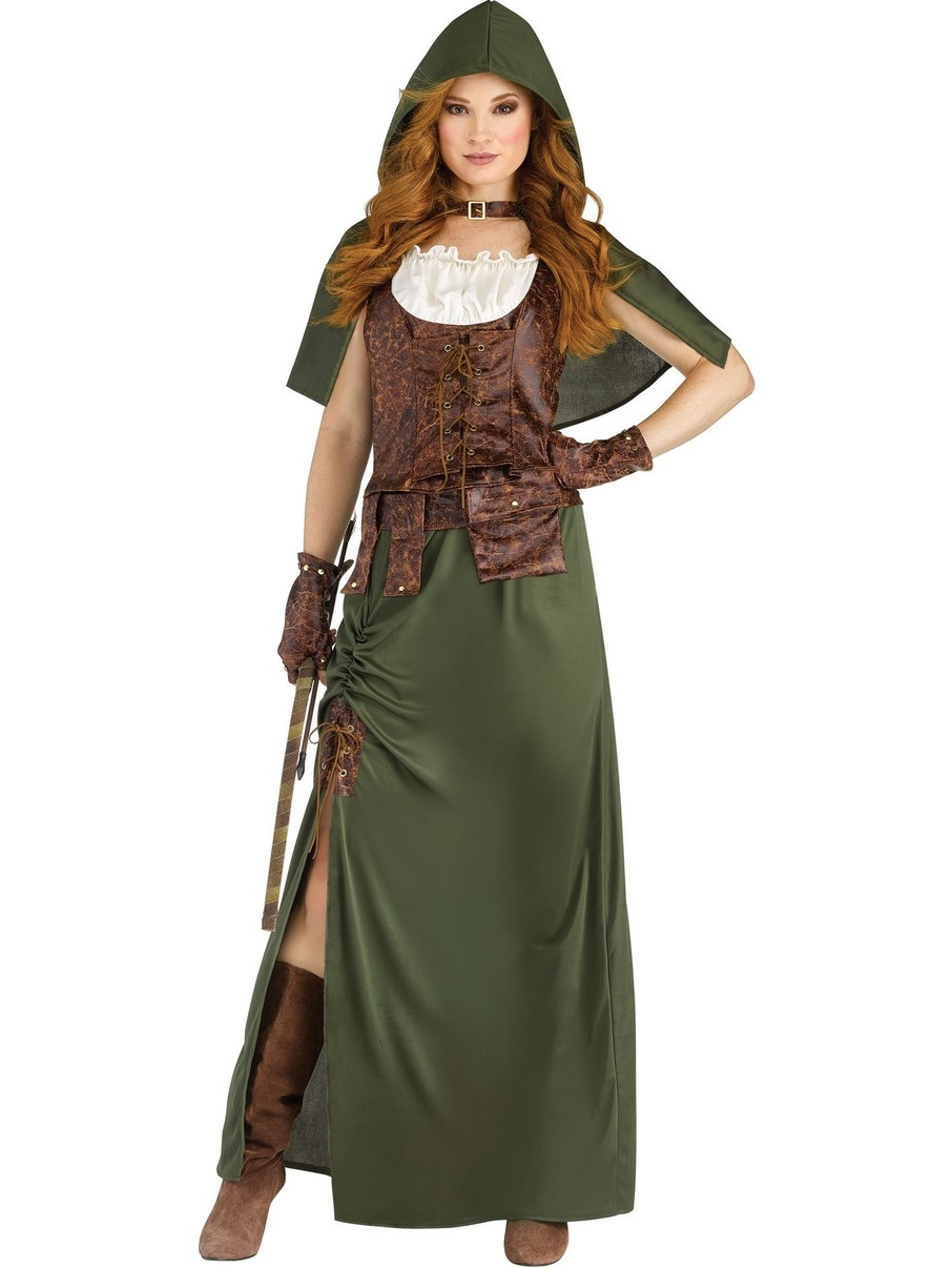 View larger image of Robin Hood Costume for Women