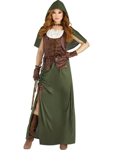 Robin Hood Costume for Women