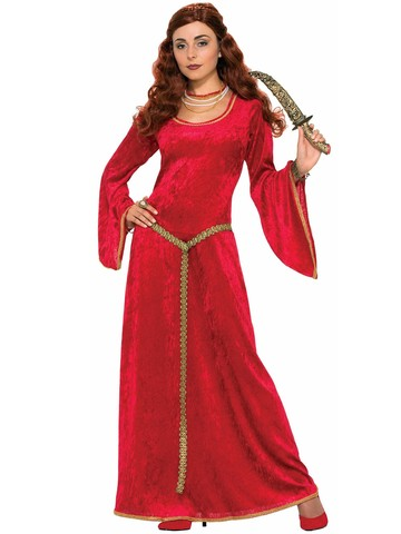 Womens Ruby Sorceress Renaissance Costume