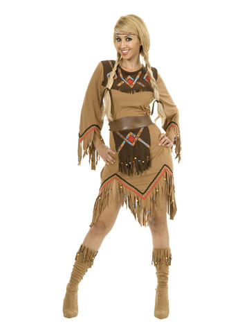 Indian Sacajawea Maiden Costume