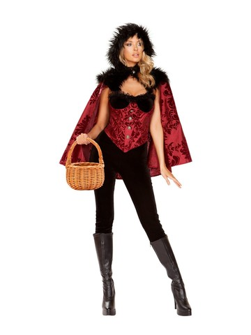 Sexy Little Dark Red Womens Costume