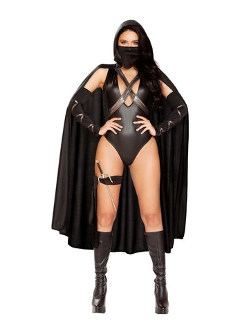 Sexy Ninja Villain Womens Costume