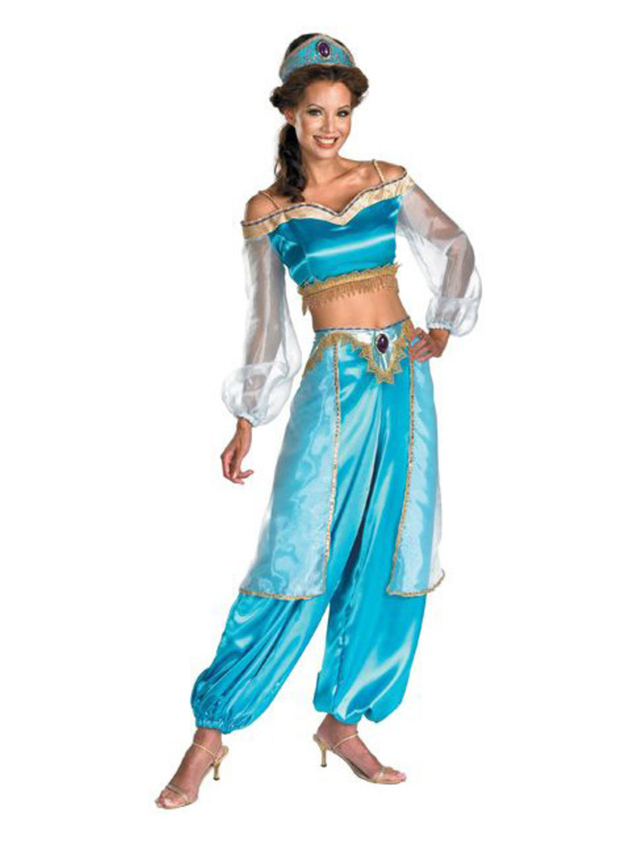 View larger image of Womens Sassy Prestige Jasmine Costume
