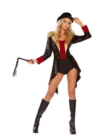 Sexy Ringmaster of Circus Womens Costume