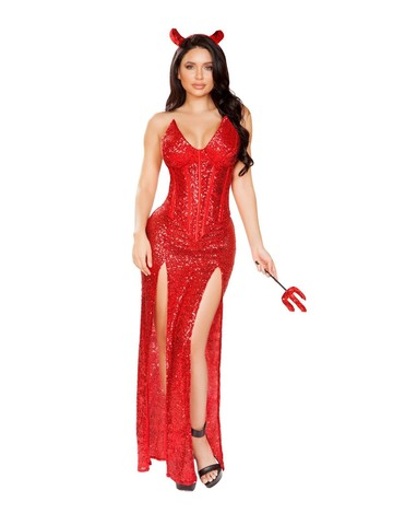 Sexy Satan Devil Womens Costume