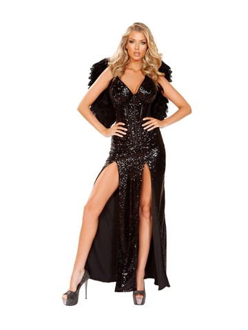 Sexy Wicked Dark Angel Womens Costume