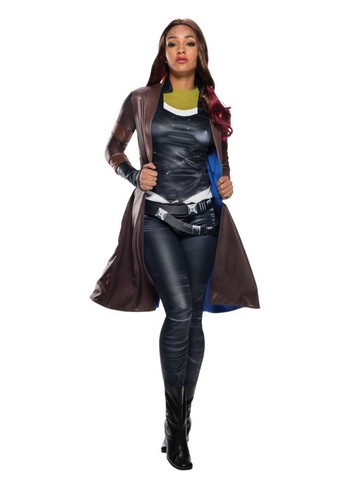 Adult Deluxe Secret Wishes Gamora Coat - Guardians of the Galaxy 2