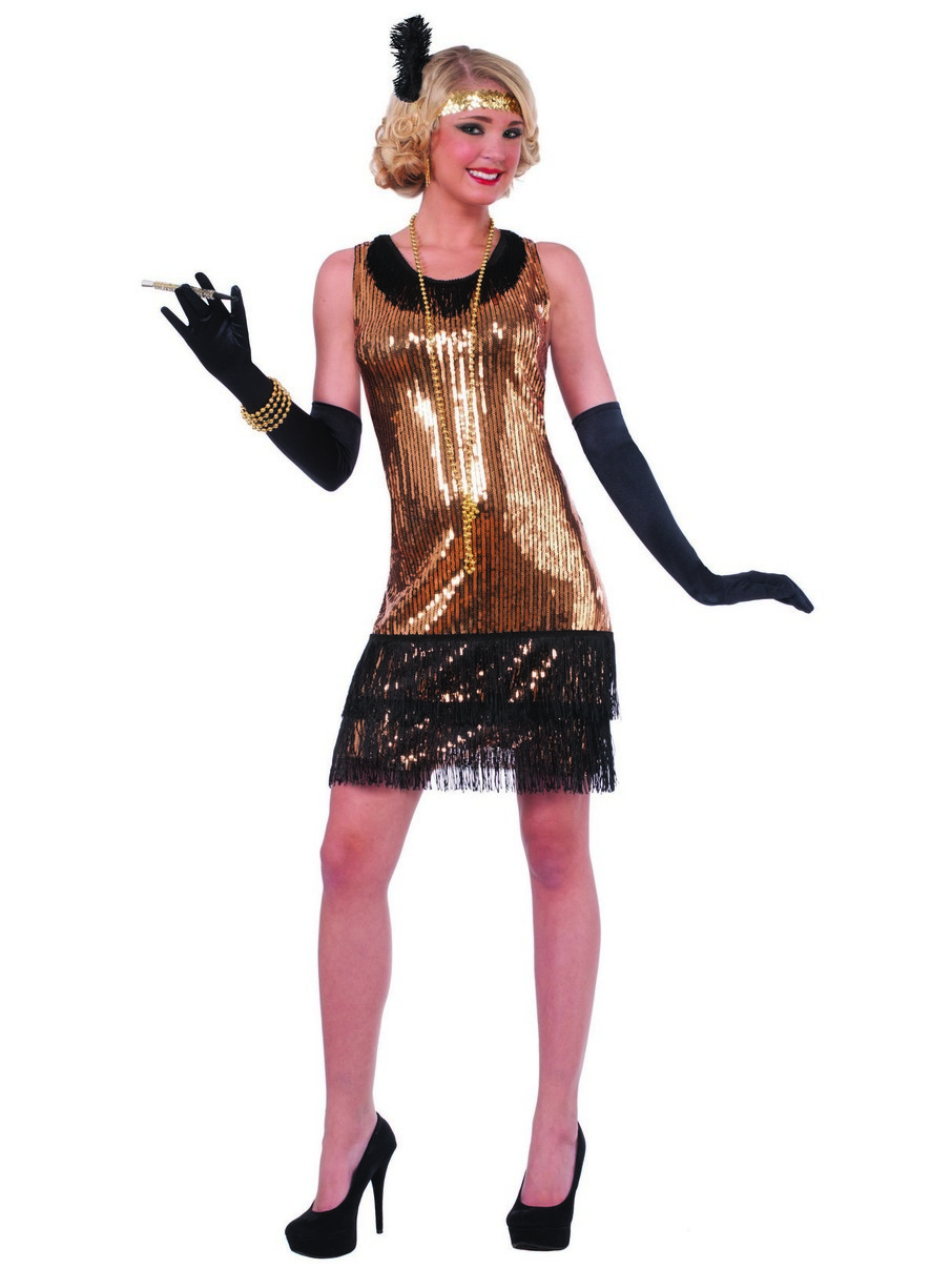 View larger image of Women's Putting on the Ritz Flapper Dress