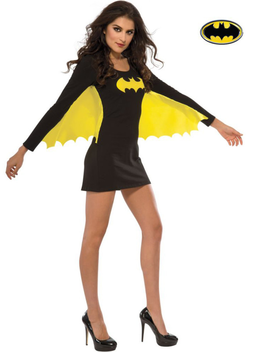 View larger image of Womens Sexy Batgirl Wing Dress Costume
