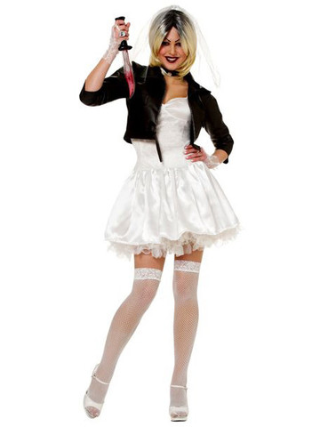 Womens Sexy Bride of Chucky Costume