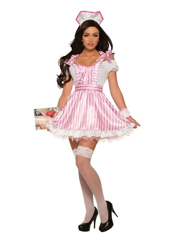 Sexy Candee Striper Womens Costume