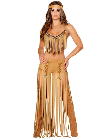 Womens Sexy Cherokee Hottie Costume