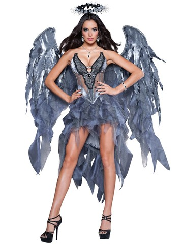 Womens Sexy Dark Angel's Desire Costume