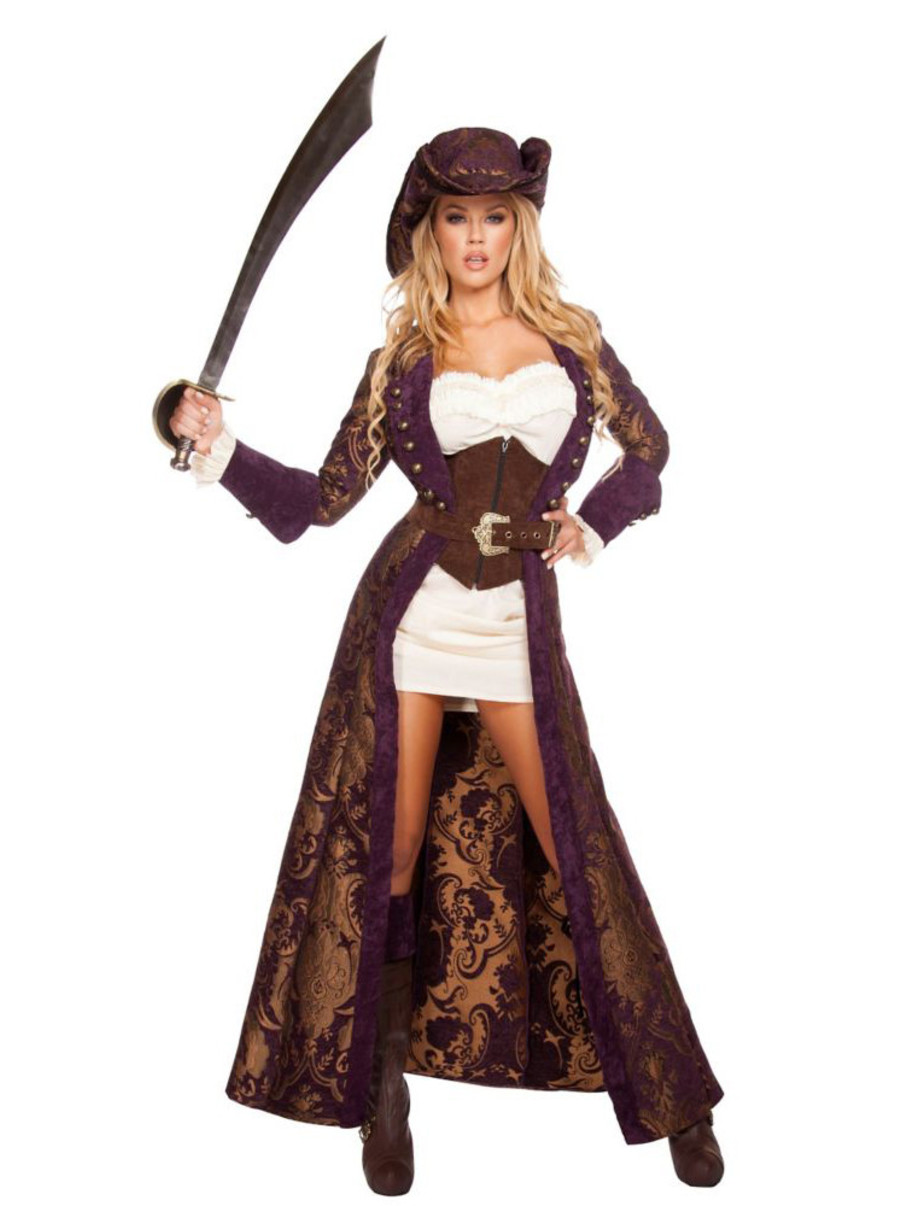 View larger image of Womens Sexy Decadent Pirate Diva Costume