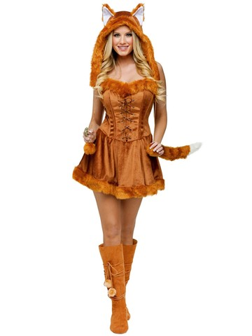 Women's Sexy Foxy Lady Costume