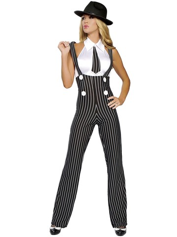 Women's Sexy Gangsta Mama Costume