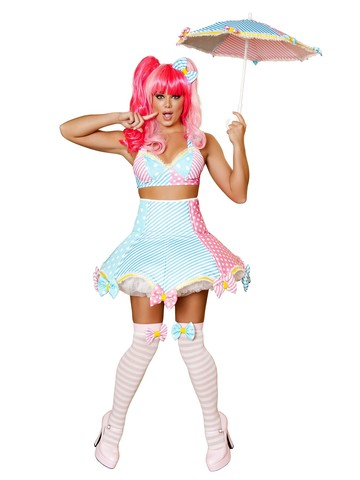 Women's Sexy Lady Laughter Deluxe Clown Costume