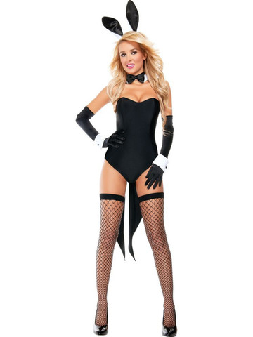 f24cec48a73 Womens Sexy Naughty Nights Bunny Costume