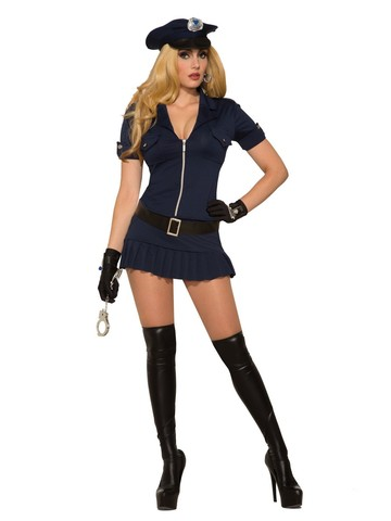 Sexy Police Costume for Women