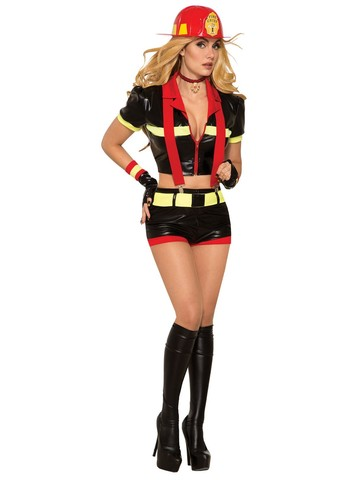 Sexy Red Hot Mama Costume for Women