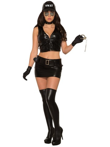 Sexy Swat Womens Costume