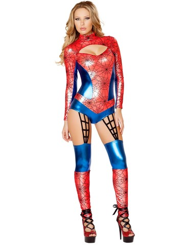 Women's Sexy Web Crawler Costume