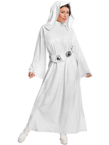 Star Wars Halloween Costumes.Womens Star Wars Deluxe Princess Leia Costume