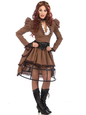 Womens Steampunk Adult Costume
