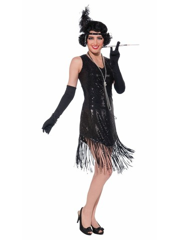 Womens Swinging in Sequins Costume