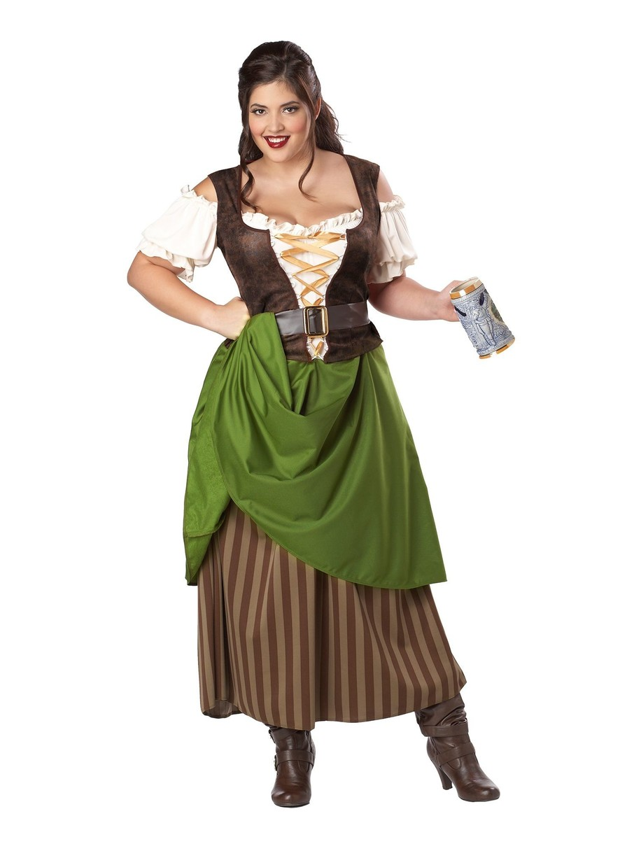 View larger image of Womens Tavern Maiden Adult Plus Costume
