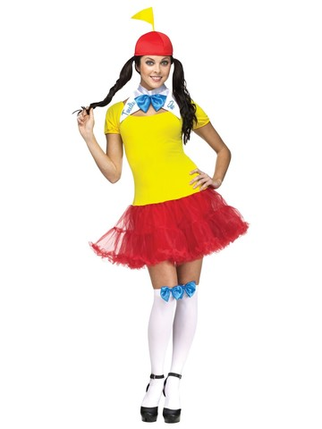 Tweedle Dee Tweedle Dum Costume for Women