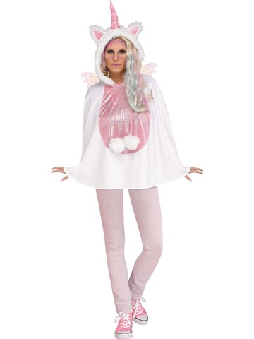 Unicorn Poncho Costume for Women