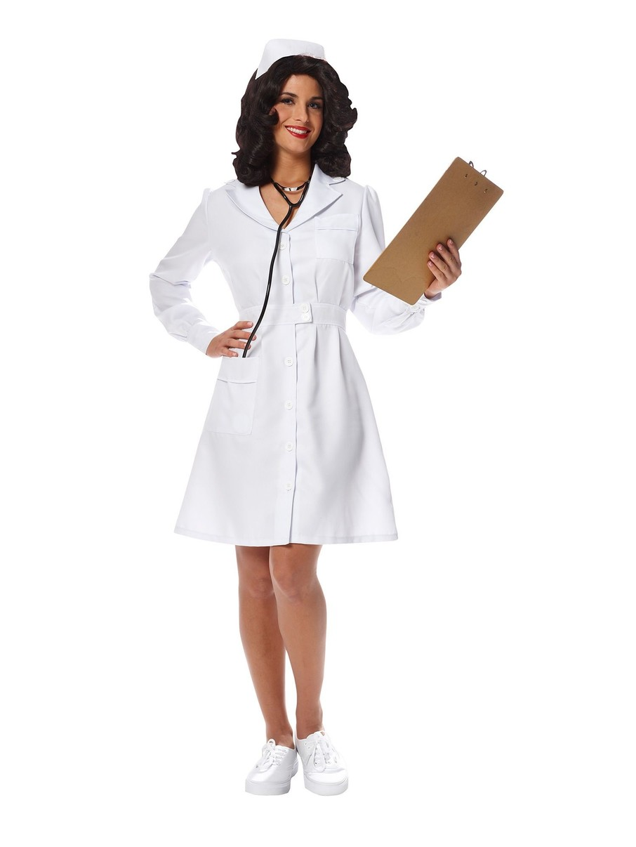 View larger image of Womens Vintage Nurse Costume