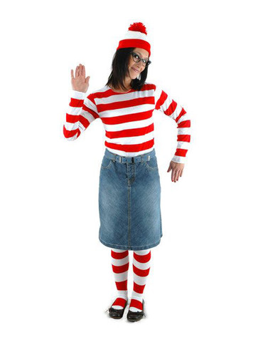Womens Where's Waldo Wenda Kit