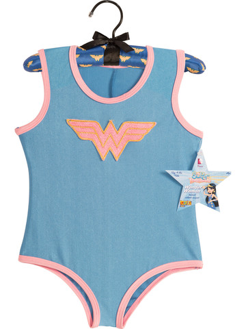 Wonder Woman Leotard with Glitter Logo