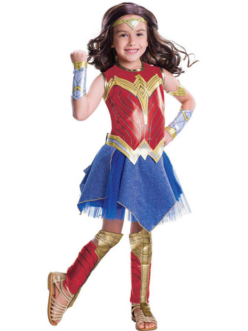 Kids Wonder Woman Movie - Wonder Woman Costume Deluxe