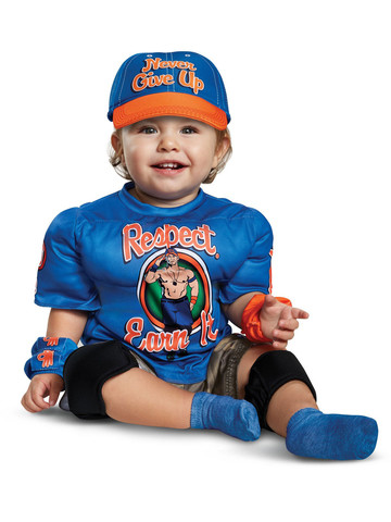 WWE: John Cena Muscle Costume for Toddlers