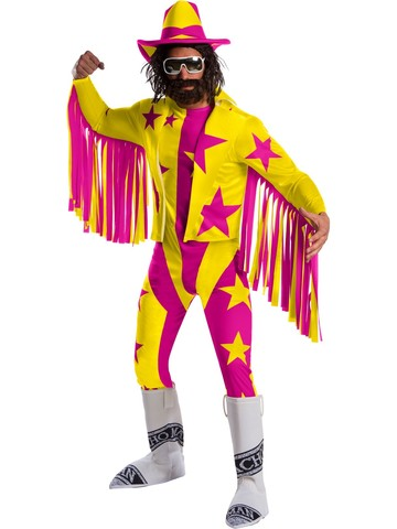 Adult Deluxe Randy Savage Macho Man WWE Costume