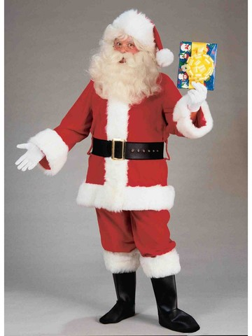 Adult Deluxe Value Santa Suit