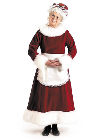 X-Large Mrs. Claus Costume