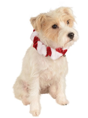 Xmas Scrunchie Collar Classic For Pets